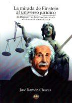 la mirada de einstein al universo jurídico-jose ramon chaves-9788494481529