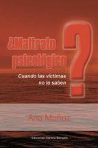 ¿maltrato psicológico (ebook) ana muñoz 9788495645029