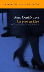 un paso en falso anna dankovtseva 9788496136229