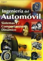 ingenieria del automovil: sistemas y comportamiento dinamico-9788497322829