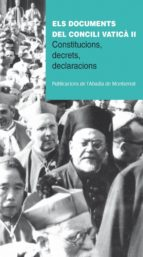 els documents del concili vatica ii-bernabe dalmau-9788498835229