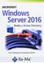 microsoft windows server 2016-david rodriguez de sepulveda-9788499647029