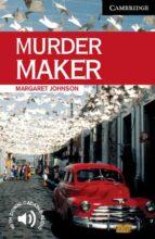 murder maker (level 6)-margaret johnson-9780521536639