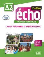 echo a2 cahier d'apprentissage jacky girardet 9782090385939