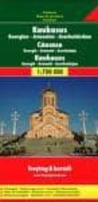 caucaso: georgia, armenia y azerbayan (1:700000) (freytag & bernd t)-9783707909739