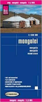 mongolia 1:1.600.000 impermeable 9783831773039