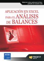 aplicación en excel para el análisis de balances (ebook)-oriol amat salas-9788415505839