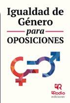 igualdad de genero para oposiciones 9788416963539
