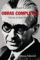 kurt gödel: obras completas-jesus mosterin-9788420647739