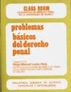 problemas basicos del derecho penal claus roxin 9788429012439