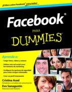 facebook para dummies (ebook)-cristina aced-eva sanagustin-9788432900839