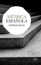 metrica española antonio quilis 9788434406339
