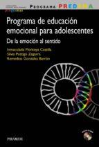 programa predema. programa de educación emocional para adolescentes (ebook)-inmaculada montoya castilla-9788436835939
