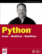 python: crear, modificar, reutilizar jim knowlton 9788441525139