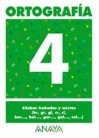 ortografia 4 (primaria) (ed. 2004)-andrea pastor fernandez-9788466727839