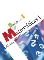 matemáticas 1º bachillerato 9788466772839