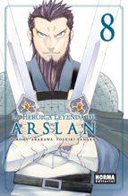 la heroica leyenda de arslan 8 yoshiki tanaka hiromu arakawa 9788467931839