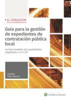 guía para la gestión de expedientes de contratación pública local-antonio cano murcia-9788470527739