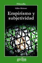 empirismo y subjetividad (2ª ed.) gilles deleuze 9788474320039