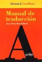 manual de traduccion aleman-castellano-rosa maria rossell ibern-9788474325539