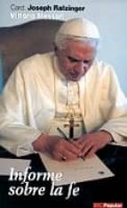 informe sobre la fe (2ª ed.)-joseph benedicto xvi ratzinger-vittorio messori-9788479147839