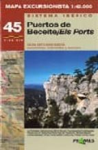 mapa excursionista puertos beceite / els ports 9788483212639