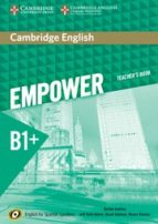 cambridge english empower for spanish speakers b1+ teacher s book-9788490362839