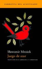 juego de azar-slawomir mrozek-9788495359339