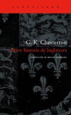 breve historia de inglaterra (4ª ed.)-g.k. chesterton-9788496136939
