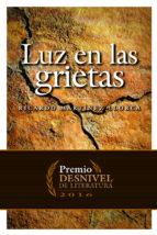 El libro de Luz en las grietas (premio desnivel de literatura 2016) autor RICARDO MARTINEZ LLORCA DOC!