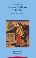 cuentos de lluvia y luna (2ª ed.) ueda akinari 9788498791839