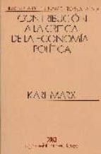 contribucion a la critica de la economia politica karl marx 9789682309939