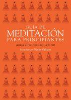 guía de meditación para principiantes (ebook)-karin valham-9788415912149