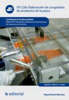 elaboración de congelados de productos de la pesca. inaj0109 (ebook)-miguel bonet martinez-9788417026349