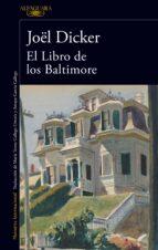 el libro de los baltimore joël dicker 9788420417349