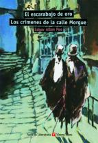 el escarabajo de oro; los crimenes de la calle morgue (aula de li teratura) (2ª ed., 9ª reimp.) edgar allan poe 9788431635749