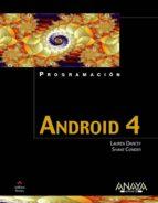 android 4 lauren darcey shane conder 9788441531949