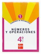 cuaderno matematicas 1. numeros y proporcionalidad 4º eso 9788467515749