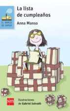 la lista de cumpleaños anna manso munne 9788467579949
