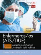 enfermeras/os. conselleria de sanitat universal i salut publica. generalitat valenciana: temario especifico (vol. ii) 9788468171449