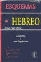 esquemas de hebreo: gramatica y usos linguisticos arturo prats olivan 9788478170449