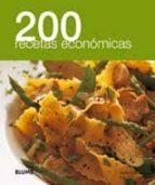 200 recetas economicas 9788480769549