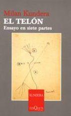 el telon-milan kundera-9788483830949