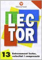 entrenament lector, velocitat i comprensió nº 13 lletra d´imprent a m. s. 9788486545949