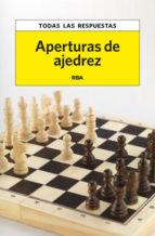 aperturas de ajedrez 9788490065549