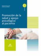 promoción de la salud y apoyo psicológico al paciente (ebook)-9788491610649
