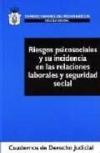 riesgos psicosociales y su incidencia en las relaciones laborales y seguridad social jordi agusti (dir.) julia 9788496228849