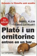 El libro de Plato i un ornitorrinc entren en un bar... autor THOMAS CATHCART EPUB!