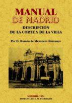 manual de madrid (facsimil)-ramon de mesoneros romanos-9788497615549