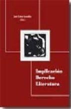 implicacion derecho literatura jose calvo gonzalez 9788498363449